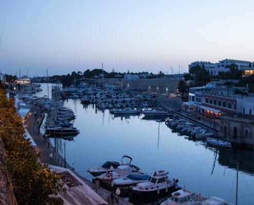 mountain biking Menorca Ciutadella harbour