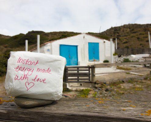 mountain biking Menorca home made energy bars