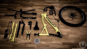 mountain bike cleaning disassembly